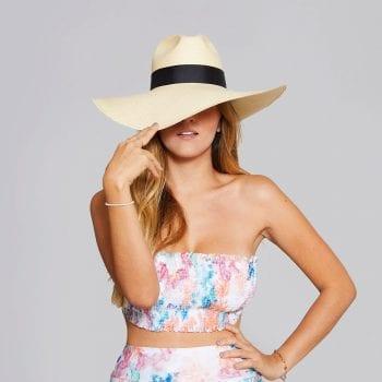 Sombrero De Paja Natural Extrafina Aguadeño De Ala Extralarga De 12 Centimetros Sombreros Sandbreros Hats